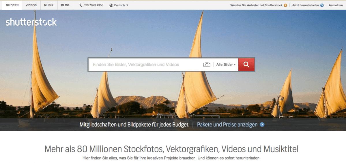 Shutterstock testrapport, prijzen en ervaringen 2