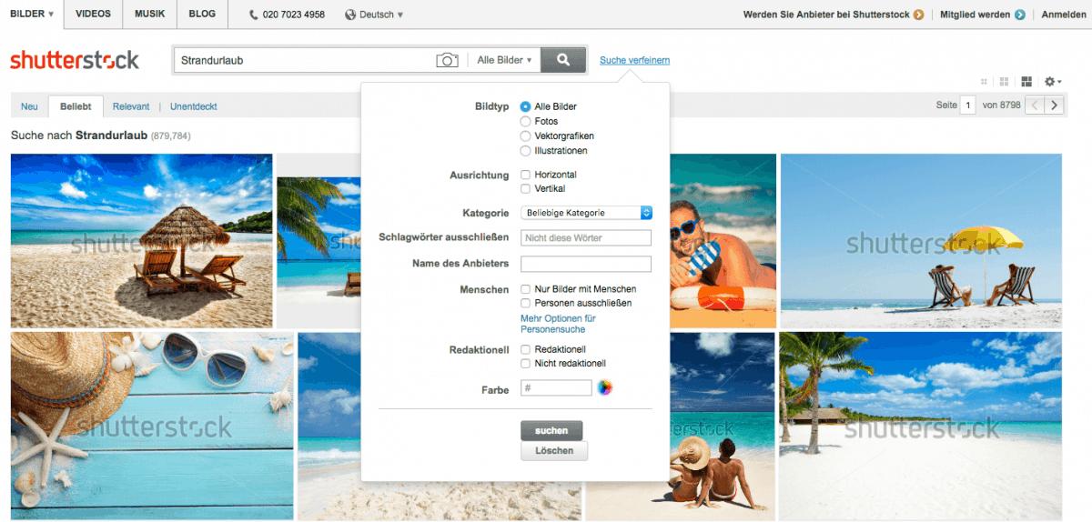 Shutterstock testrapport, prijzen en ervaringen 3