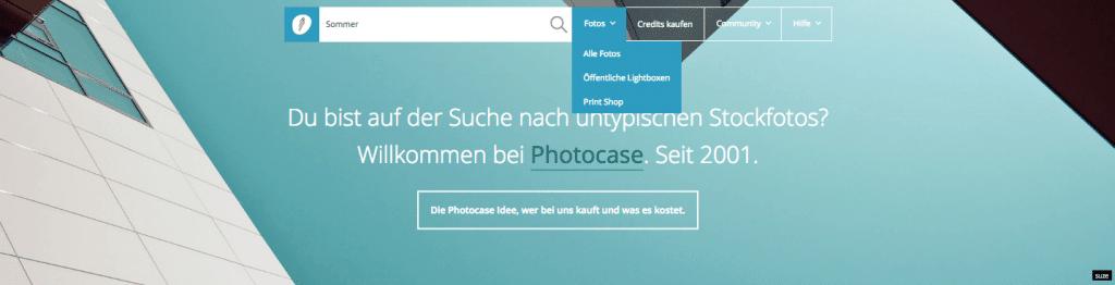 Photocase foto's zoeken