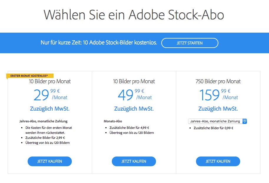 Adobe Stock testrapport, prijzen en ervaringen 3