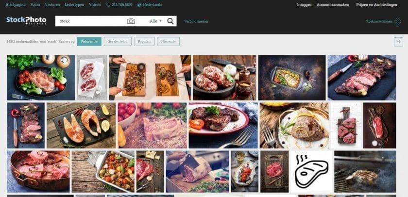 StockPhotoSecrets voedselfoto's