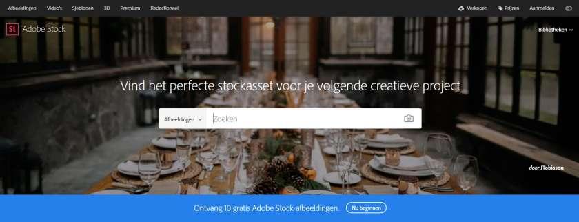 Adobe Stock gratis afbeeldingen