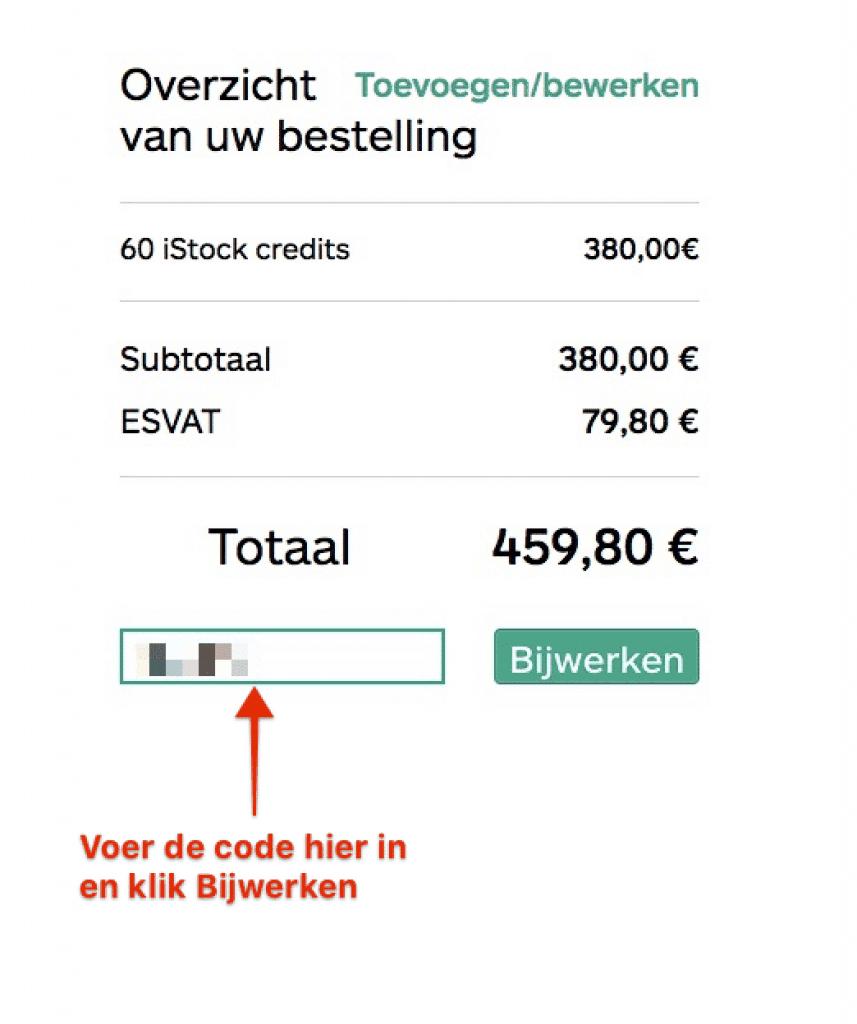 iStock promotie kortingscodes