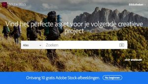 Adobe Stock afbeeldingen voor social media