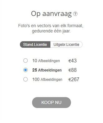 Depositphotos op aanvraag