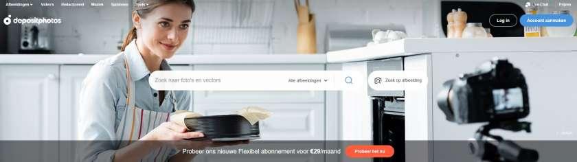 nl.depositphotos.com homepage