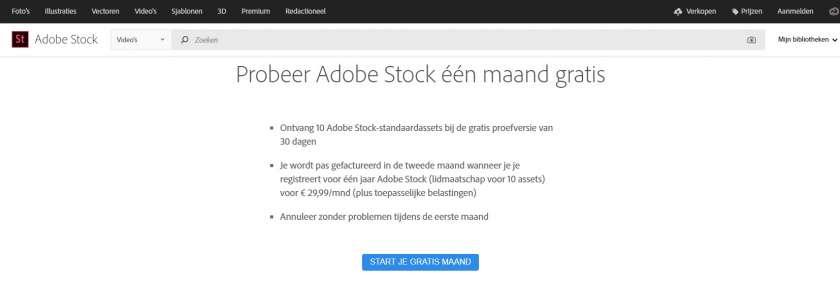 Adobe Stock gratis