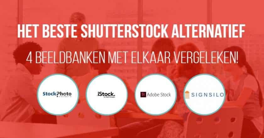 Het beste Shutterstock alternatief - wij vergelijken 4 beeldbanken voor u! 1