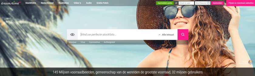 Dreamstime website gratis kredieten