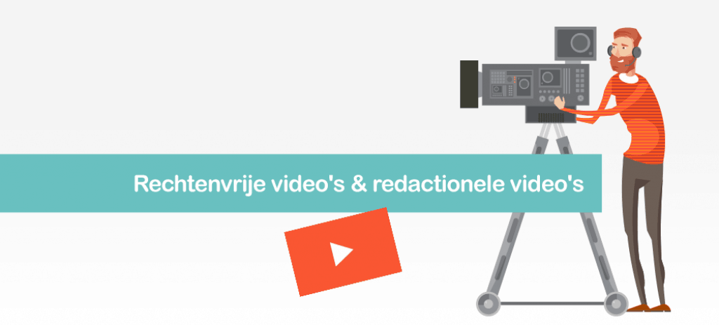 Rechtenvrije video's en redactionele video's