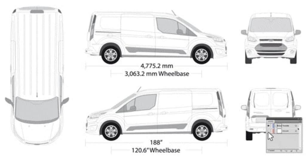 Alles over voertuigsjablonen, voertuigbelettering en autobelettering 3