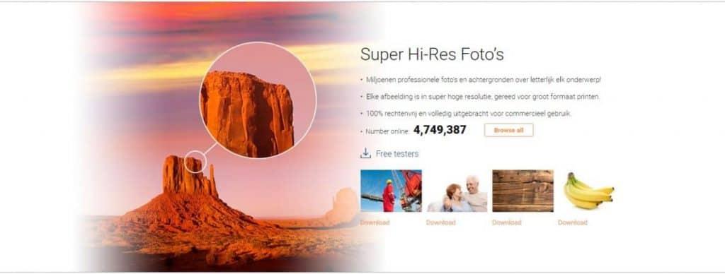 SignSilo Super Hi-Res foto's