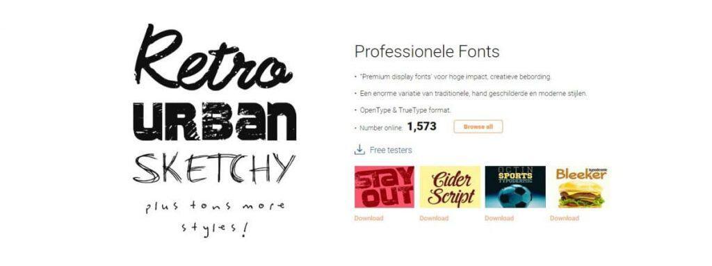 SignSilo lettertypen