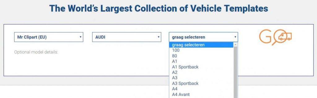 SignSilo - Voertuigsjablonen, afbeeldingen en foto's voor voertuigbelettering 7