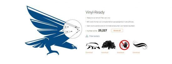SignSilo vinyl ready