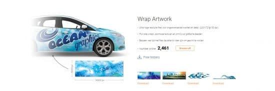 SignSilo wrap artwork