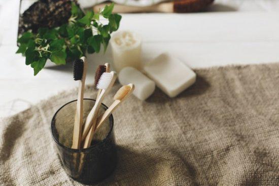 Shutterstock Trends 2019 stilleven van natuurlijke verzorgingsproducten