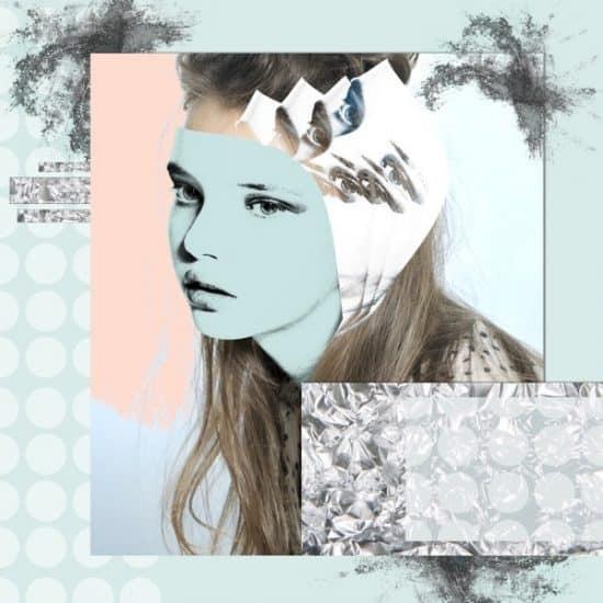 Kunstzinnig portret van een jong meisje
