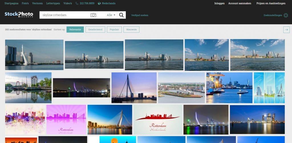 StockPhotoSecrets Shop screenshot afbeeldingen