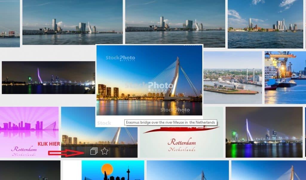 StockPhotoSecrets Shop visuele zoekfunctie voorbeeld