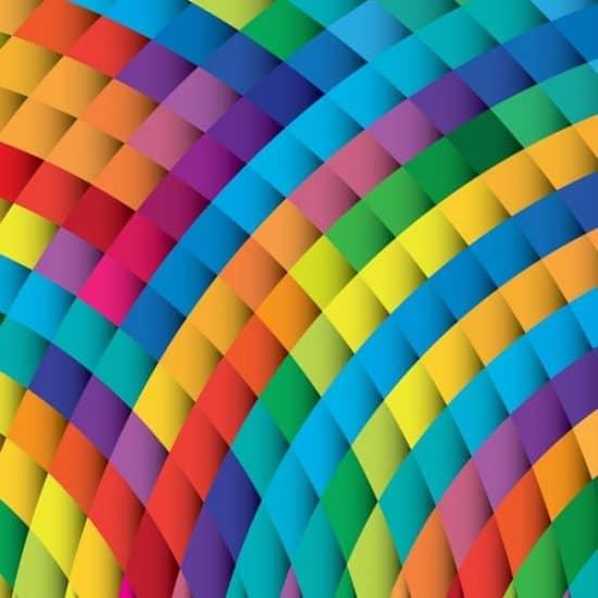 Shutterstock Trends 2019 prisma in opvallende kleuren