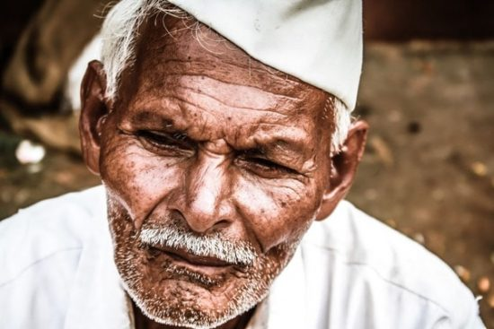 Oude man India