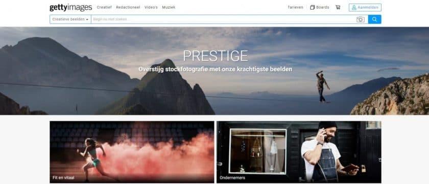 Getty images prestige premium afbeeldingen