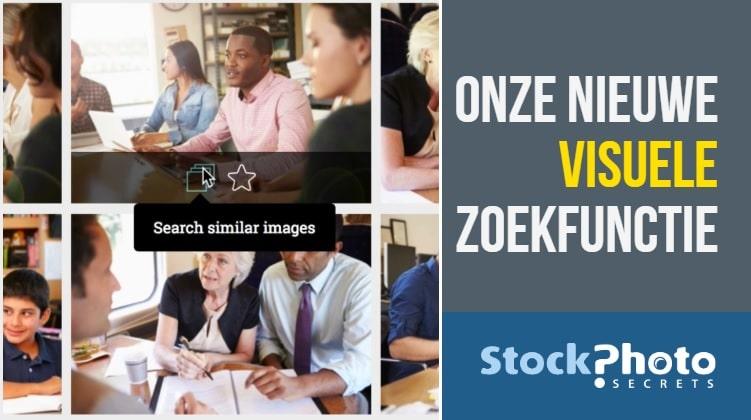 Sneller foto's vinden met de visuele zoekfunctie van StockPhotoSecrets! 1