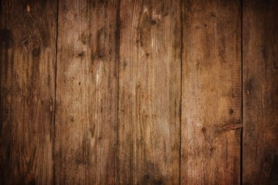Planken met houtnerfstructuur