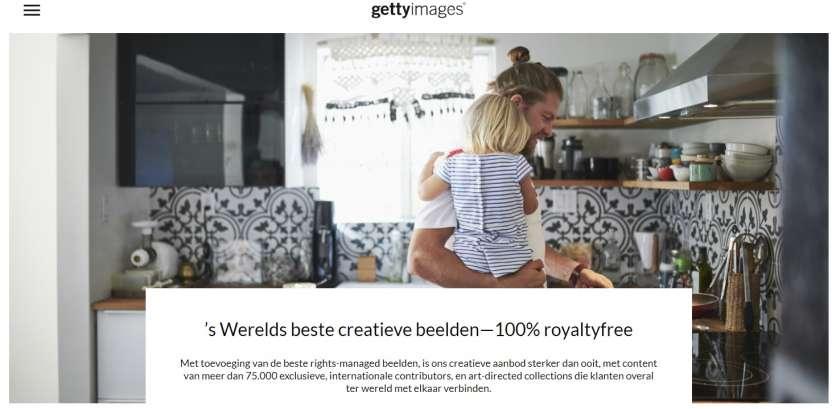 Getty Images creative RF premium afbeeldingen