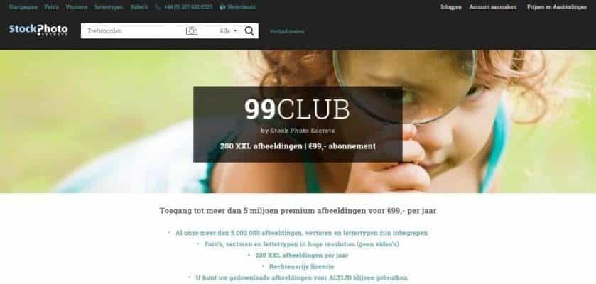 99club aanbieding EPS-bestanden