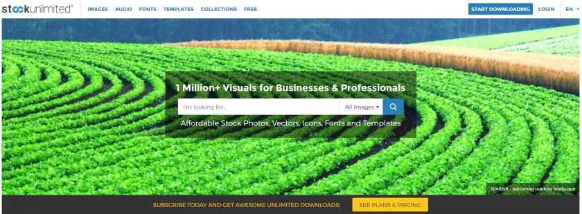 www.stockunlimited.com homepage onbeperkt afbeeldingen downloaden