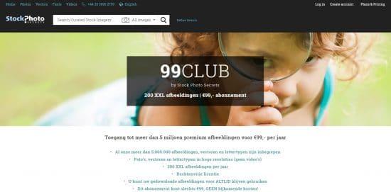 99club hoeveel kost een stockfoto