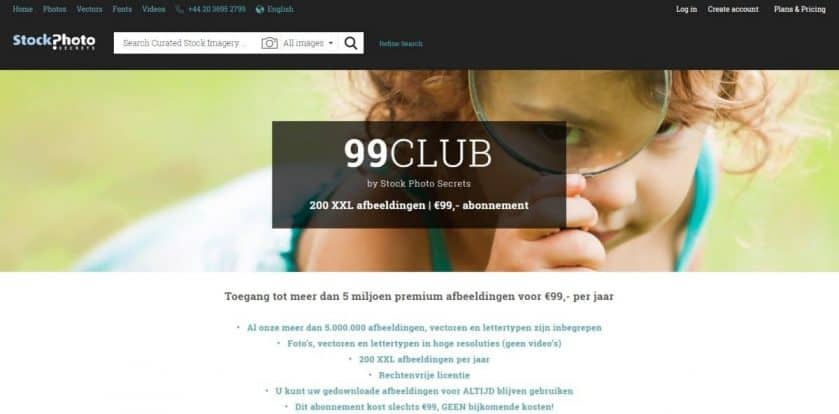 StockPhotoSecrets Shop 99club with PayPal