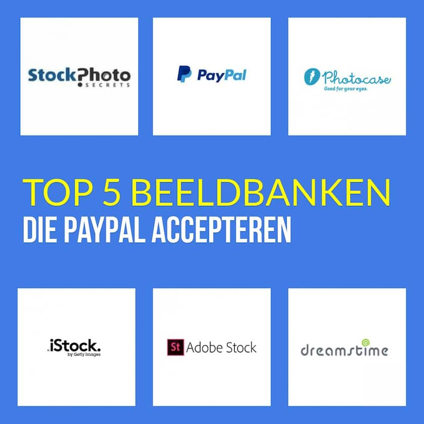 Top 5 beeldbanken die PayPal accepteren 1