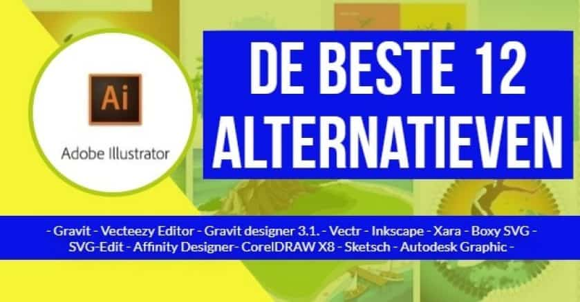 Adobe Illustrator - de beste 12 alternatieven 1