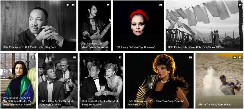 Getty Images historische beelden