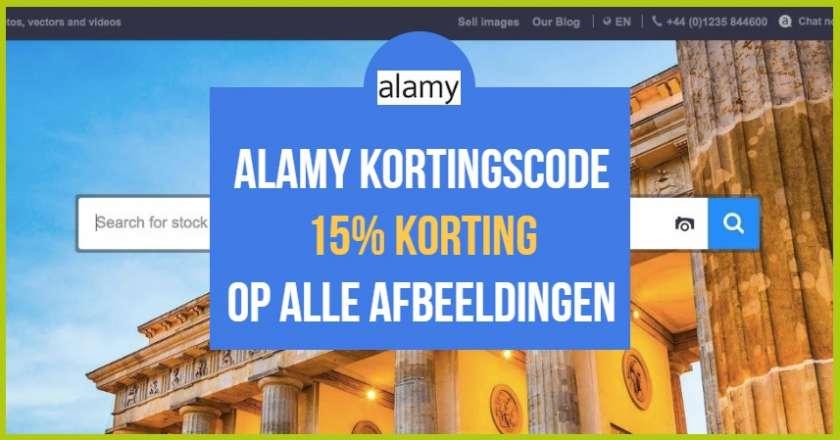 Alamy kortingscode – Profiteer van 15% korting op alle afbeeldingen van Alamy! 1