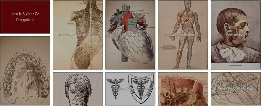Vintagemedstock historisch medisch beeldmateriaal