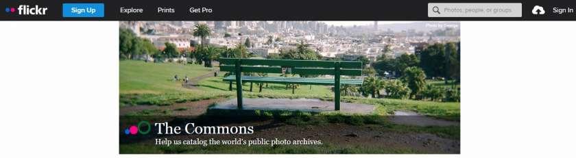 Flickr Commons historische afbeeldingen