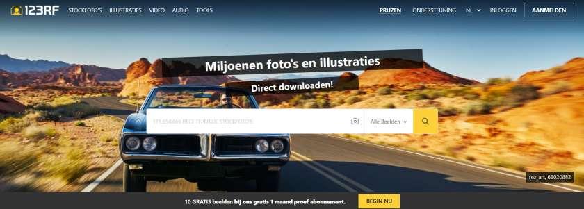 nl.123rf.com homepage