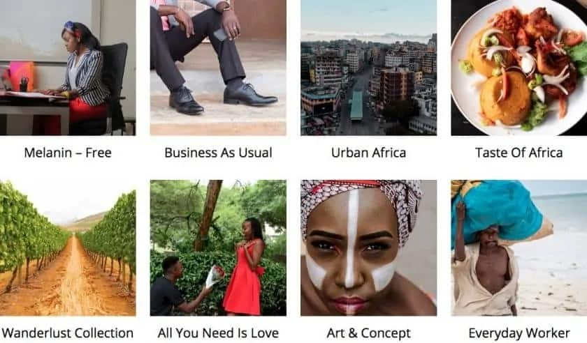 Picha Afrikaanse foto's
