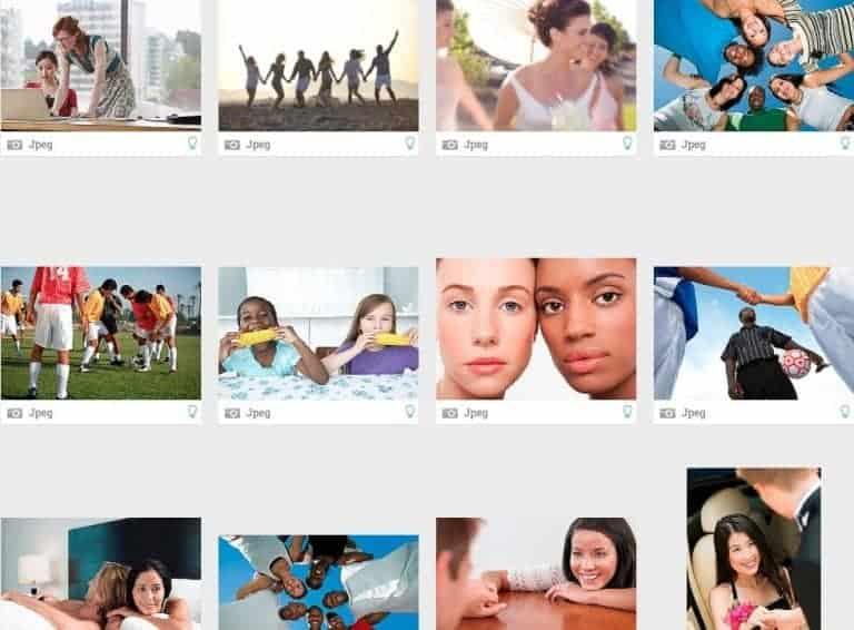 StockPhotoSecrets Shop diversiteit afbeeldingen