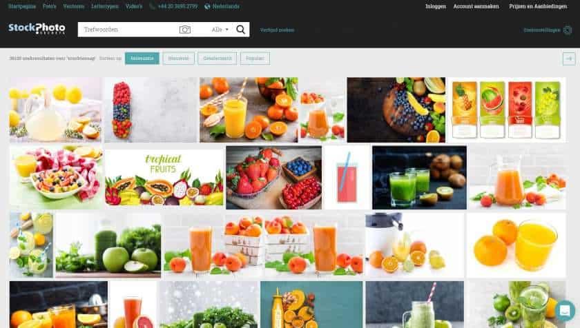 StockPhotoSecrets Shop foto's