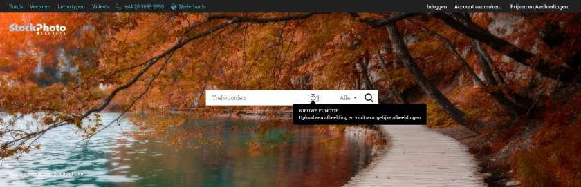 StockPhotoSecrets screenshot homepage