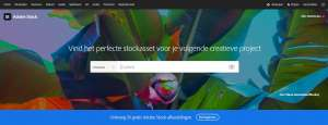 stock.adobe.com/nl homepage