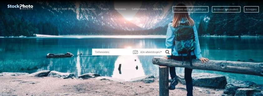 StockPhotoSecrets website screenshot