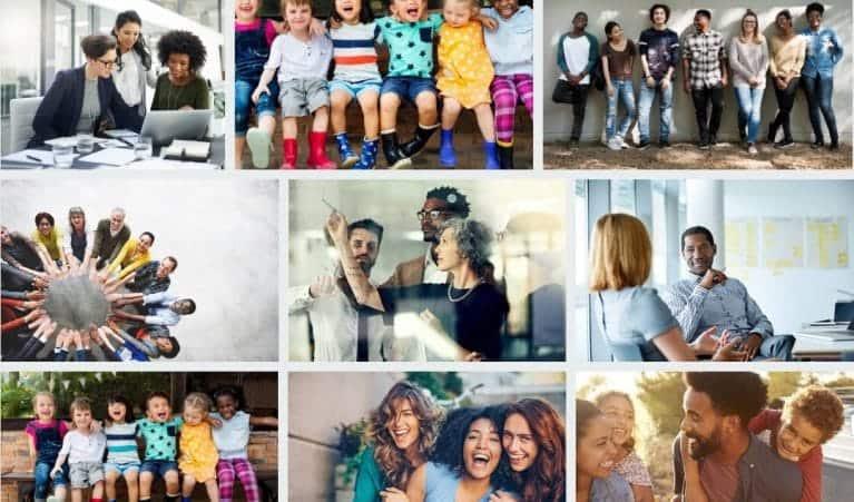 iStock diversiteit afbeeldingen