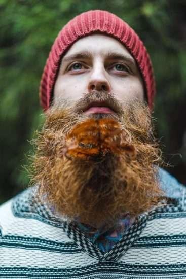 Photocase hipster man met baard