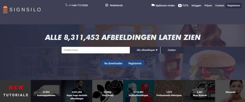 Signsilo website
